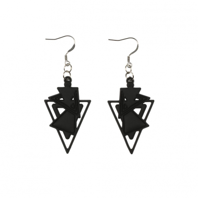 Kheops Earrings Black