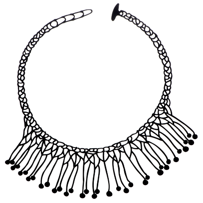 Di-Maccio Necklace Black