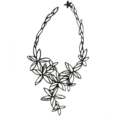 Hawaii Necklace Black