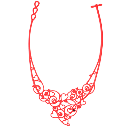Collier Passion Rouge