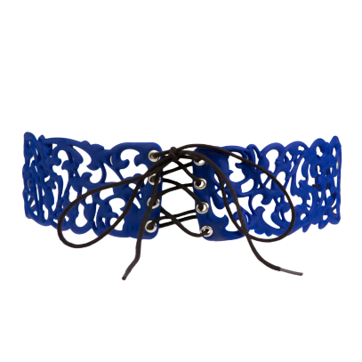 "Batucada Belt, ""B Belt"", Night Blue"