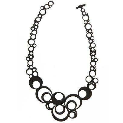 Collier Night Bubbles Noir