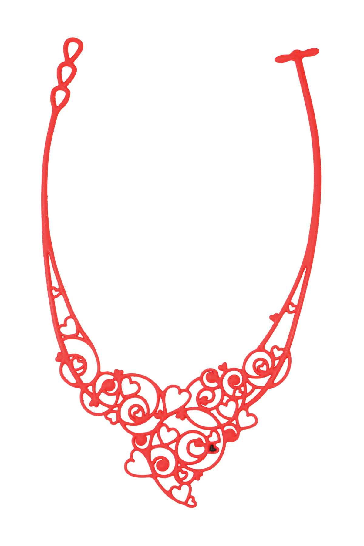 Bijoux Jewelry Jewels Collier Necklace Silicone Gomme